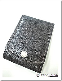 土屋鞄 アルマスバーチカルカードケース