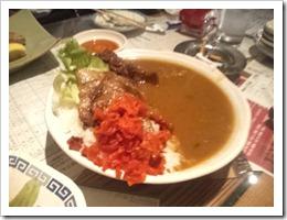 生姜焼き カレー